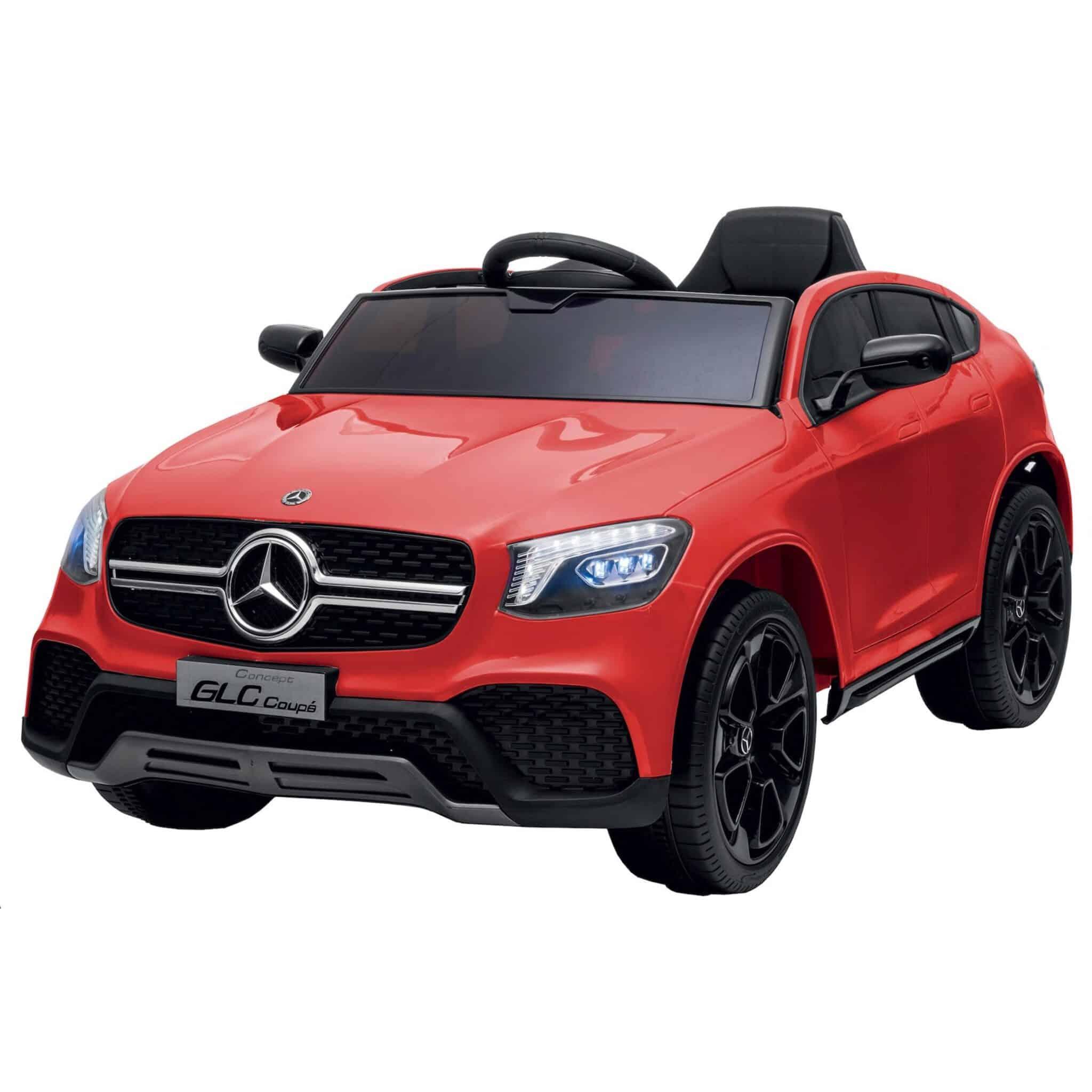 Mercedes GLC Coupè Colibrì – Rosso